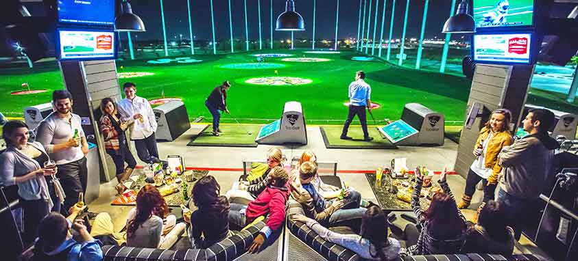 golf for special business events