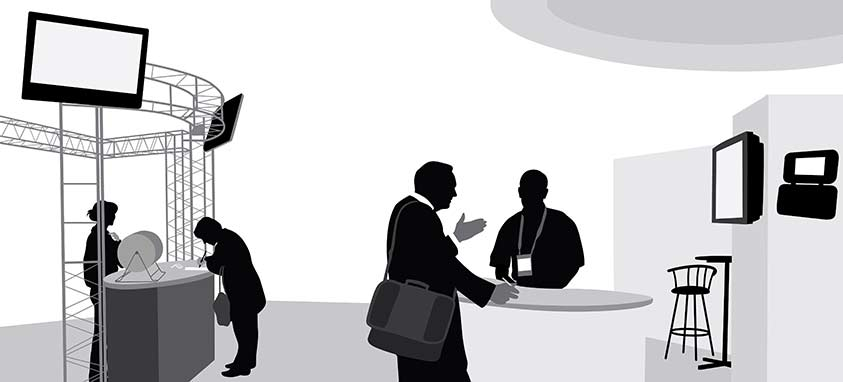 Trade Show Booth Exhibitors : Trade show tips for exhibitors smart meetings