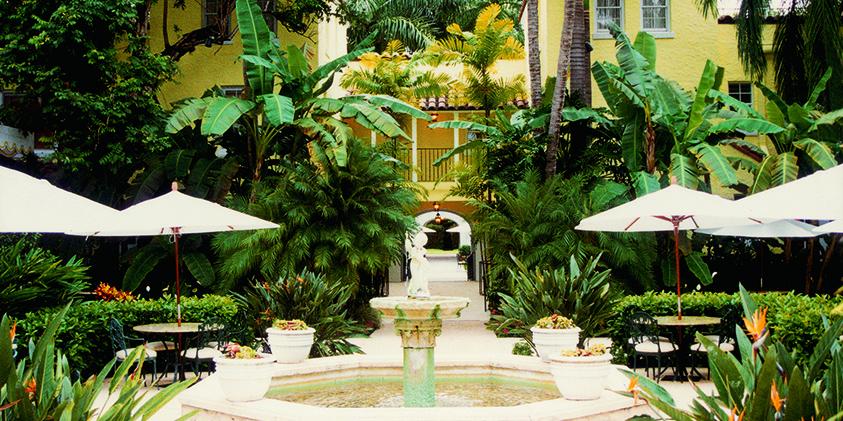 The Brazilian Court Courtyard
