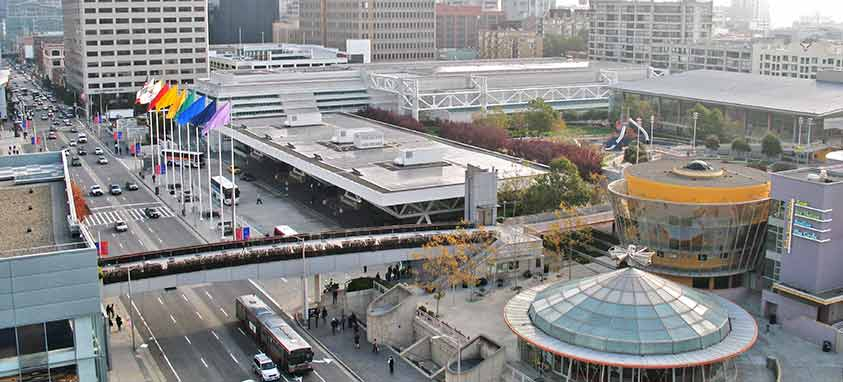 Moscone Center San Francisco 2016 tourism records