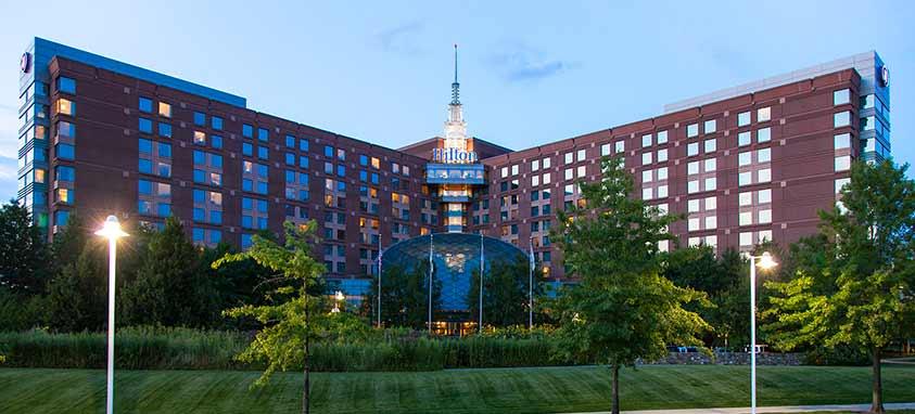 hilton boston logan airport best airport hotels in north america