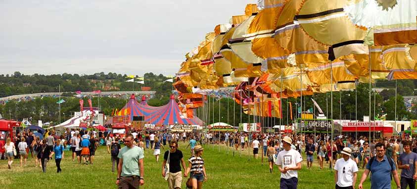 glastonbury music festival pee power