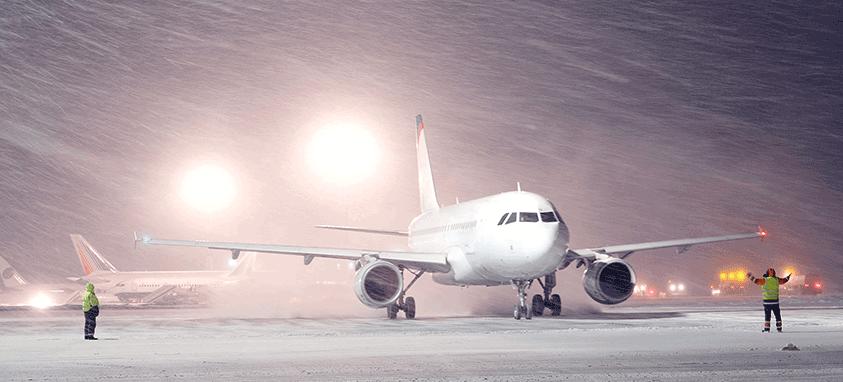 plane weather travel