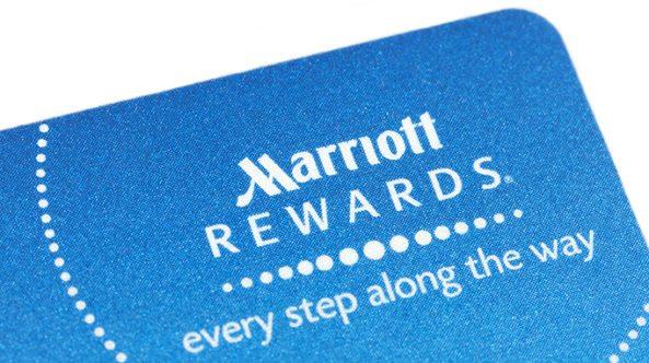 Marriott loyalty card