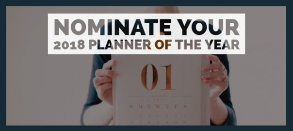 Planner of the Year 2018