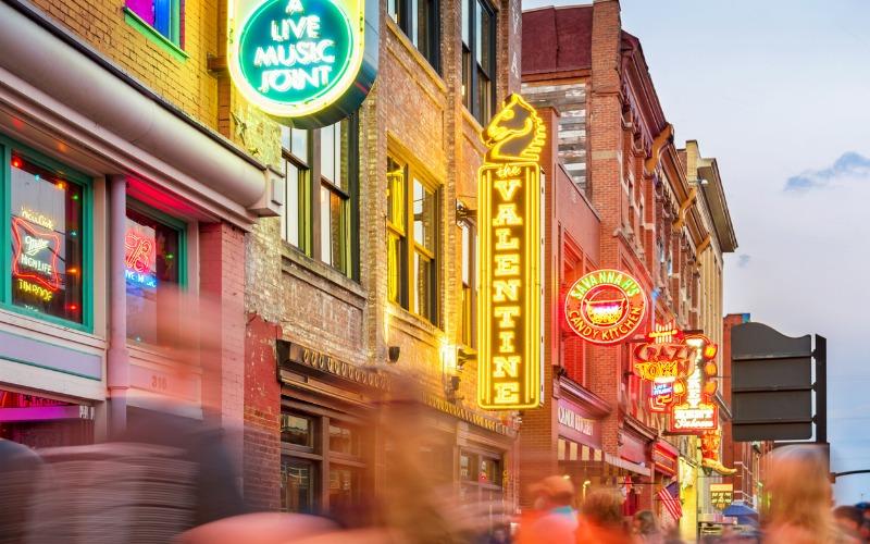 7. Nashville, Tennessee