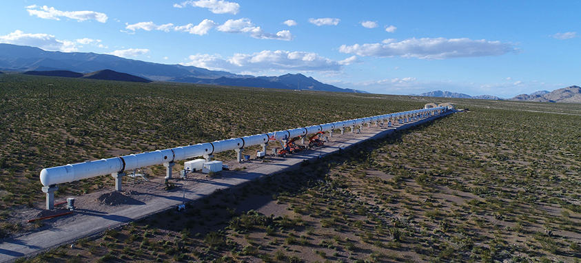 Virgin Hyperloop One Devloop Test Site