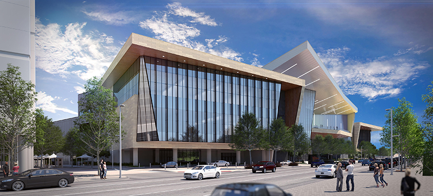 Oklahoma City Convention Center Rendering