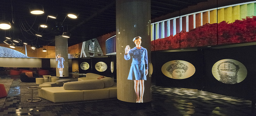 Agora Lobby Level Fairmont, The Queen Elizabeth