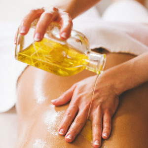 high relaxation cbd oil massage
