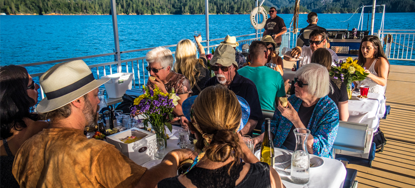 Host a meeting everyone will look forward to. Break away from the  conference room and get out on the lake where you can hop on the Lake  Shasta Dinner Cruise ... 37b691d8e617